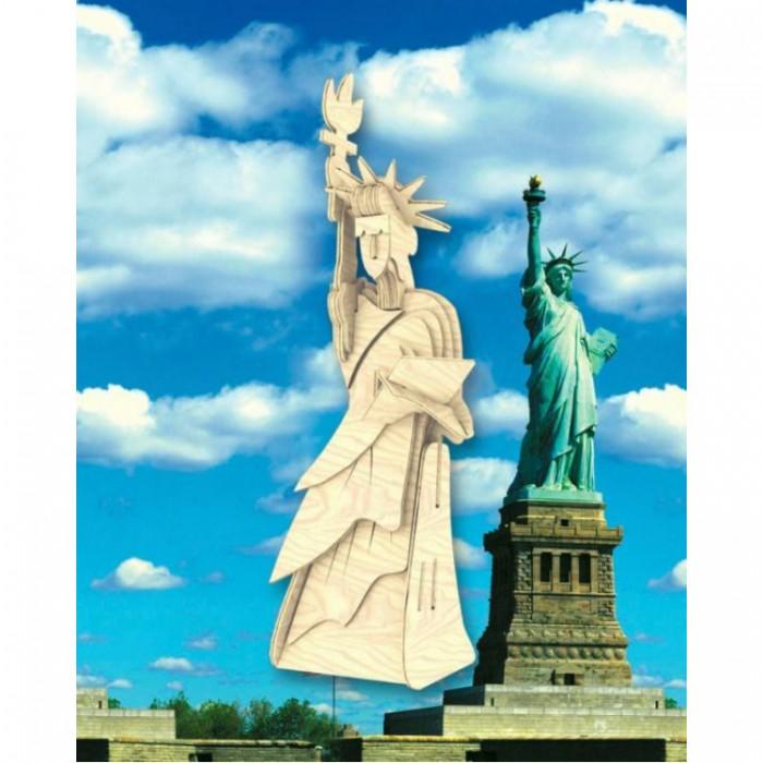 Конструкторы Мир деревянных игрушек (МДИ) малый Статуя Свободы конструкторы eastcolight сборная модель science time скелет трицератопса 14 элементов