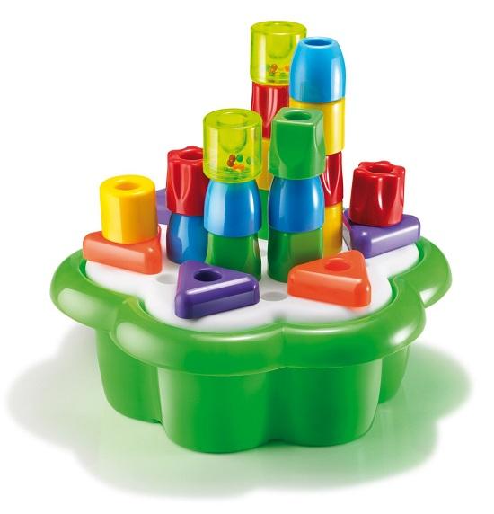 Купить Развивающие игрушки, Развивающая игрушка Quercetti Набор Башни (28 элементов)