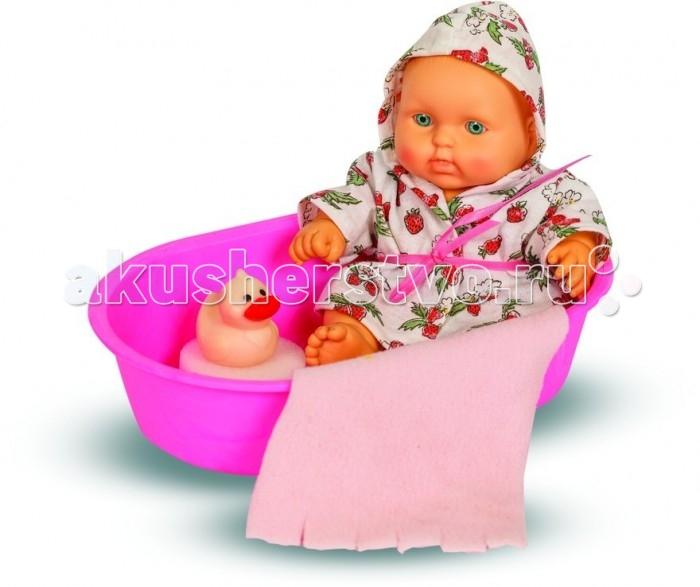 Куклы и одежда для кукол Весна Кукла карапуз в ванночке девочка кукла весна карапуз в халате в ванночке мальчик 20 см