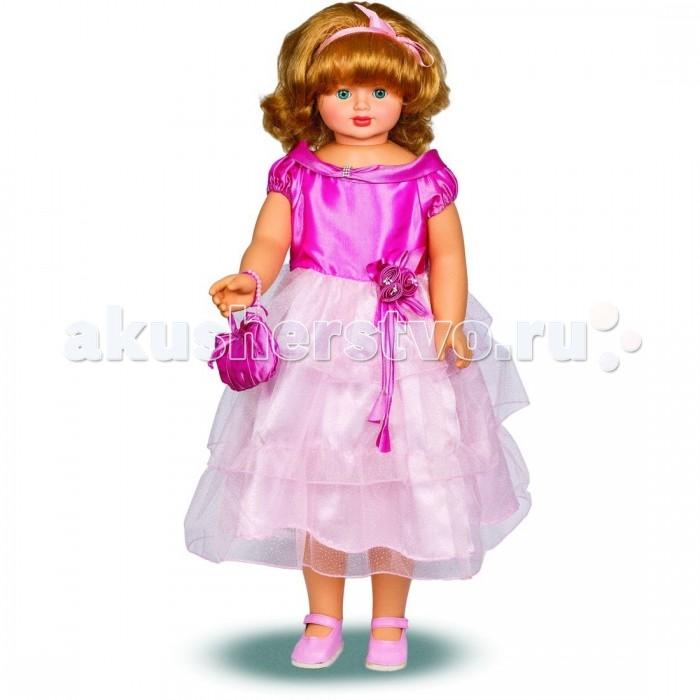 Весна Кукла Снежана 8 озвученная 87 смКукла Снежана 8 озвученная 87 смЭлегантная куколка с чудесным именем Снежана оснащена механизмом движения. Если ее вести за ручку, она шагает. Шикарные волосы куклы качественно прошиты, поэтому вы сможете придумать своей новой куколке множество интересных причесок.  Одета Снежана в нарядное платьице, в котором можно появиться даже на королевском балу! На ножках девочки туфельки в тон платью и сумочке. Образ выгодно дополняет лента в волосах.  Кроме того, куколка умеет произносить от 3 до 5 предложений.<br>