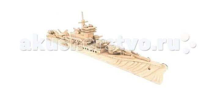 Конструкторы Мир деревянных игрушек Крейсер купить