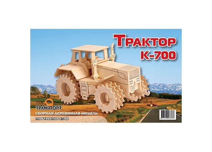 Конструкторы Мир деревянных игрушек Трактор К-700