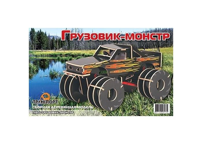 Конструкторы Мир деревянных игрушек (МДИ) Грузовик-монстр цветной конструкторы мир деревянных игрушек мди мышь