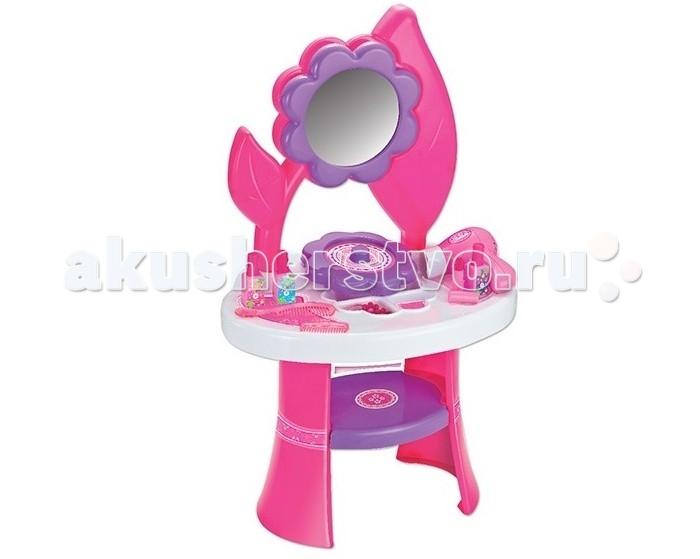 1 Toy Игровой набор Туалетный столик большой цветок игровой набор 1toy туалетный столик маленький цветок