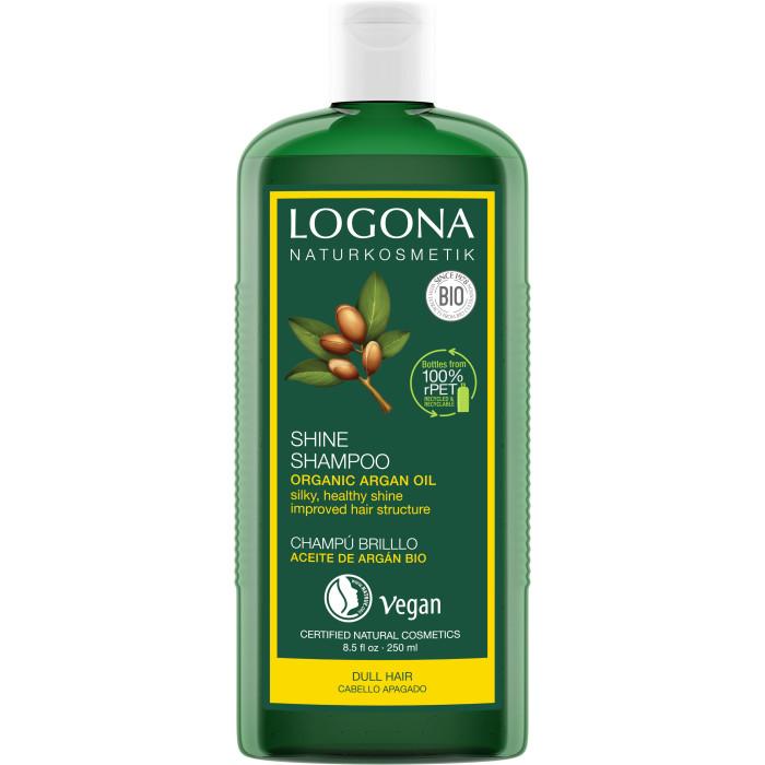 Косметика для мамы Logona Шампунь для восстановления  блеска волос с Био-Аргановым маслом 250 мл недорого