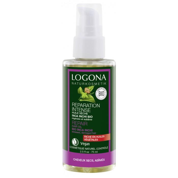Косметика для мамы Logona Восстанавливающее масло для волос 75 мл darphin восстанавливающее масло для лица тела и волос восстанавливающее масло для лица тела и волос