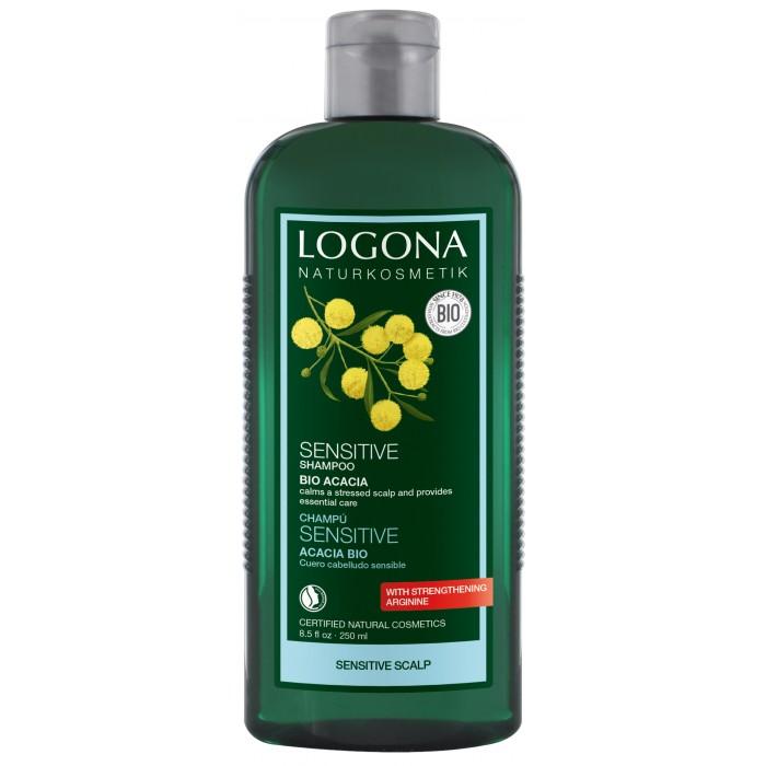 Косметика для мамы Logona Шампунь для чувствительной кожи головы с Био-Акацией 250 мл недорого
