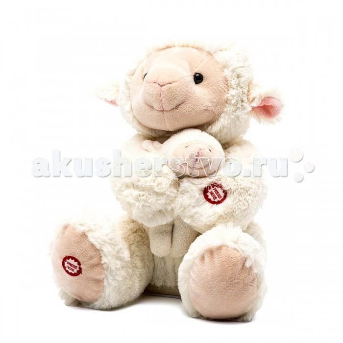Интерактивные игрушки Fluffy Family Мама и малыш Овечка 26 см