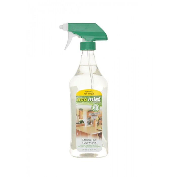 Бытовая химия Eco Mist Средство для для очистки кухонных поверхностей Kitchen Plus 825 мл средство для очистки поверхностей из древесины и ламината eco mist 825 мл