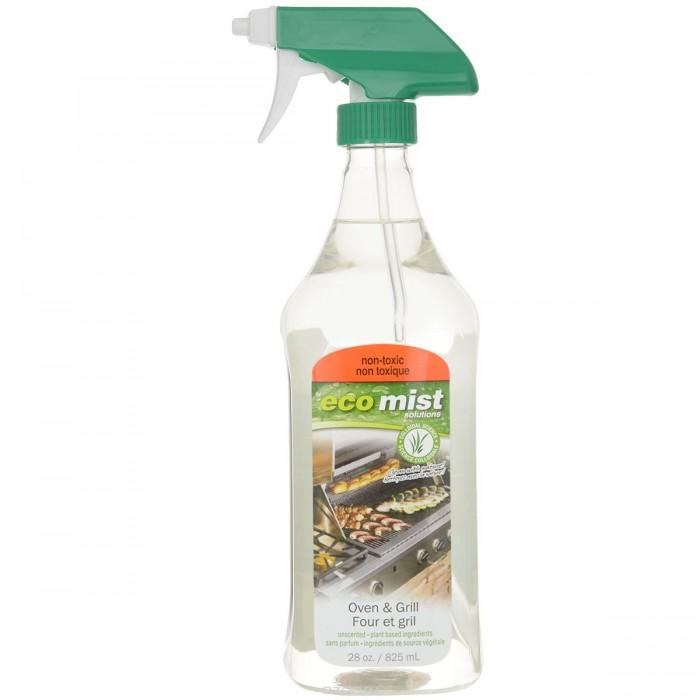 Бытовая химия Eco Mist Средство для очистки духовок и гриля Oven & Gril 825 мл средство для очистки поверхностей из древесины и ламината eco mist 825 мл