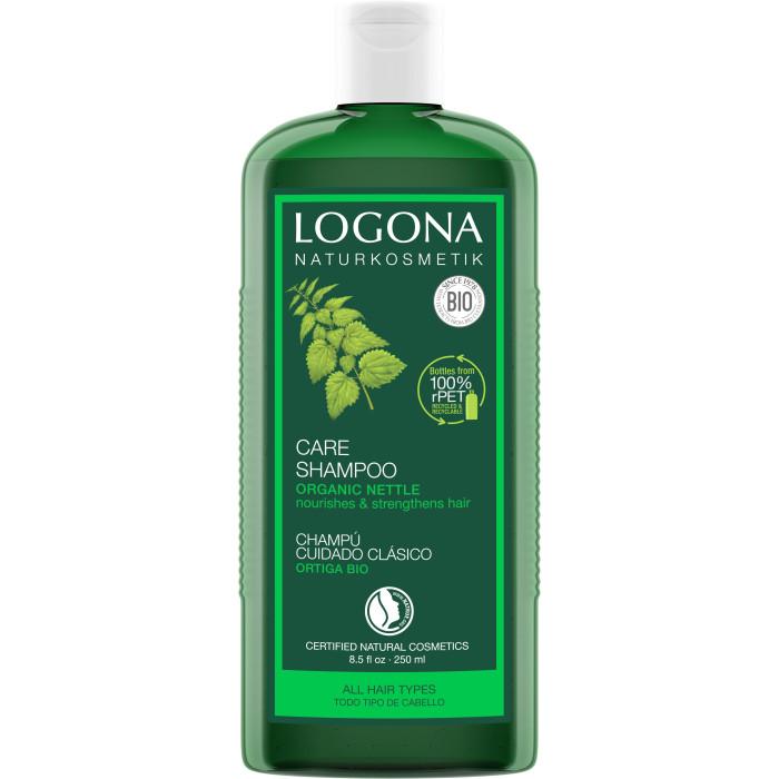 Косметика для мамы Logona Шампунь для базового ухода за волосами с Экстрактом Крапивы 250 мл недорого