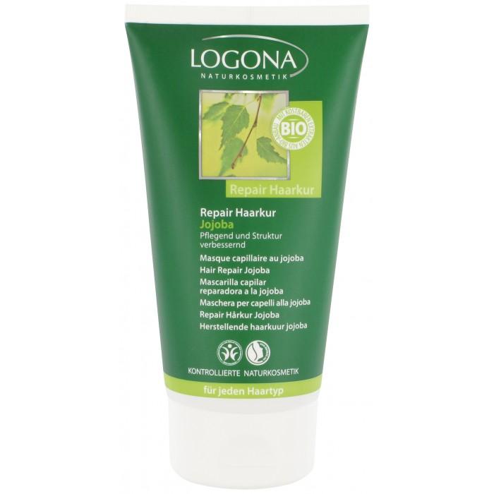 Косметика для мамы Logona Восстанавливающий крем для волос с маслом Жожоба 150 мл оздоровительная косметика венозол крем при варикозе