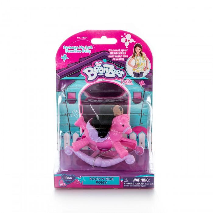 Игровые наборы Beanzeez Игровой набор плюшевый Медвежонок на пони-качалке игровой набор beanzeez медвежонок на пони качалке