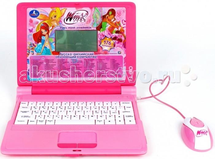Электронные игрушки Умка Обучающий компьютер Винкс (176 программ) компьютер в астаге