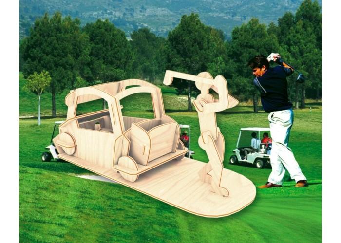 Конструкторы Мир деревянных игрушек (МДИ) Игрок в гольф фольксваген гольф 4 в рязани стоимость