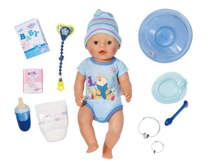 Куклы и одежда для кукол Zapf Creation Baby born Кукла-мальчик 43 см куклы и одежда для кукол zapf creation baby annabell памперсы 5 штук