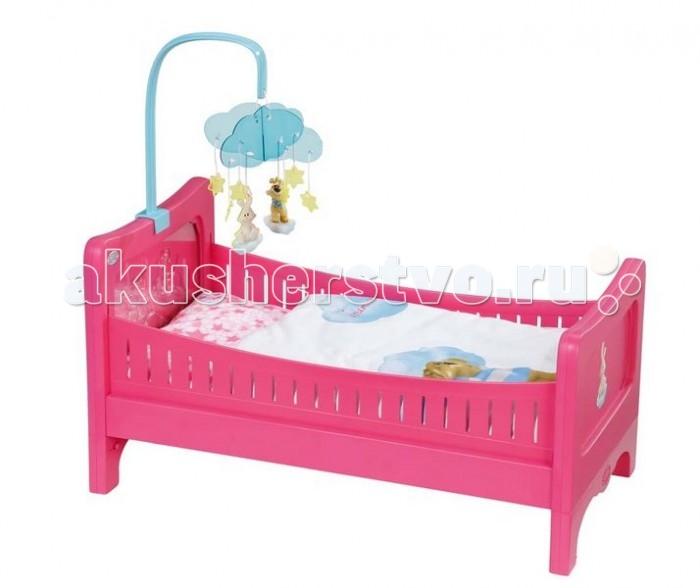 Кроватка для куклы Zapf Creation Baby born 49.5х12.7х32 см от Акушерство