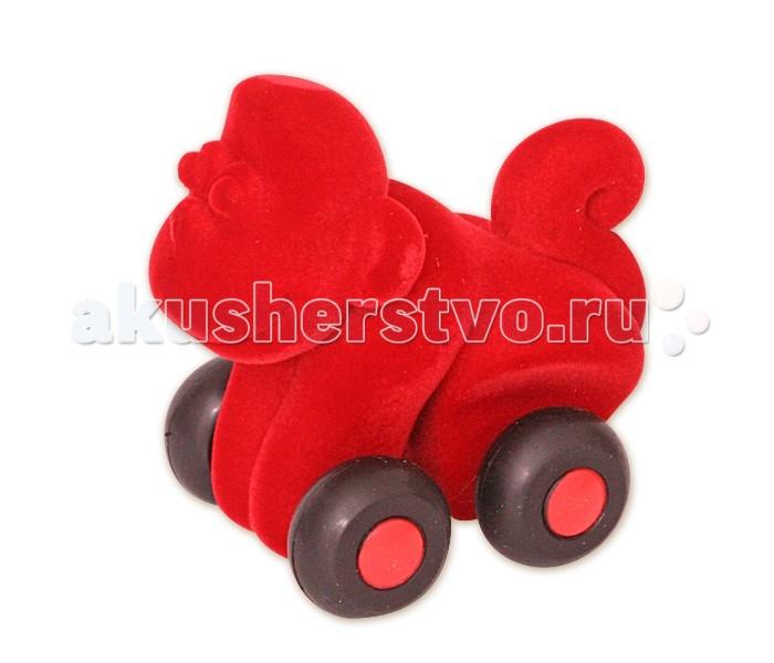 Развивающие игрушки Rubbabu Обезьяна из натурального каучука с флоковым покрытием 9 см машины rubbabu скутер из натурального каучука с флоковым покрытием 21 см