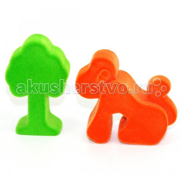Игровые наборы Rubbabu Набор Джунгли из натурального каучука с флоковым покрытием игровые наборы esschert design набор игровой kg118