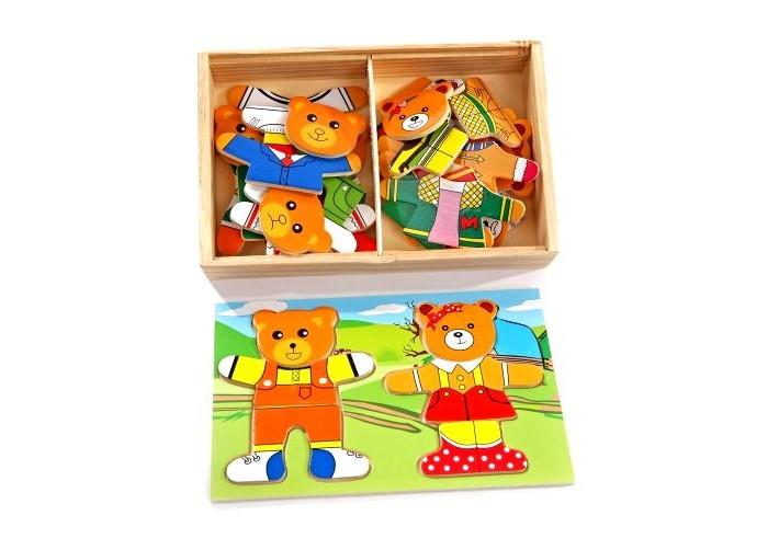 Деревянные игрушки Мир деревянных игрушек (МДИ) Два медведя деревянные игрушки мир деревянных игрушек мди лабиринт совушка