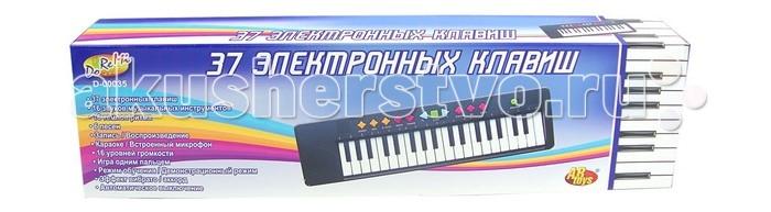 Музыкальные игрушки DoReMi Синтезатор 37 клавиш 54 см музыкальный инструмент детский doremi синтезатор 37 клавиш 54 см