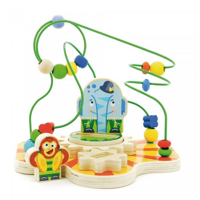 Деревянные игрушки Мир деревянных игрушек (МДИ) Сортер лабиринт Цирк деревянные игрушки мир деревянных игрушек мди лабиринт лев