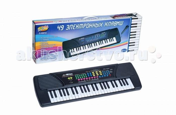 Музыкальные игрушки DoReMi Синтезатор 37 клавиш 78 см