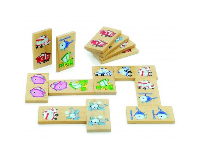Деревянные игрушки Мир деревянных игрушек (МДИ) Домино Транспорт