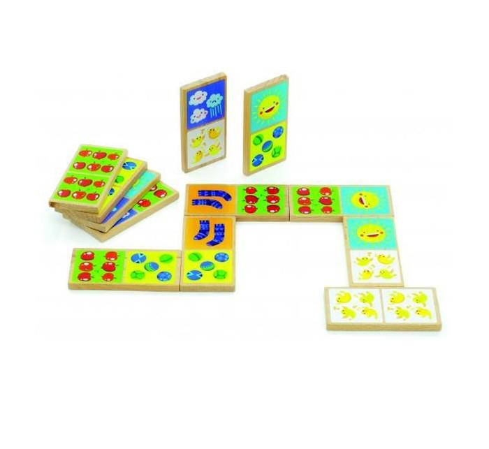 Деревянные игрушки Мир деревянных игрушек (МДИ) Домино Счёт деревянные игрушки мир деревянных игрушек мди лабиринт лев