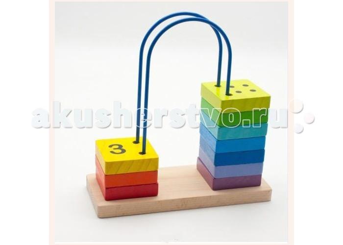 Деревянные игрушки Мир деревянных игрушек (МДИ) Счеты большие деревянные игрушки мир деревянных игрушек мди счеты