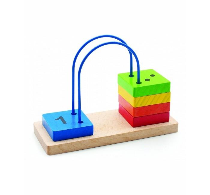 Деревянные игрушки Мир деревянных игрушек Счеты перекидные малые деревянные игрушки мир деревянных игрушек кубики 1х3 номер 1