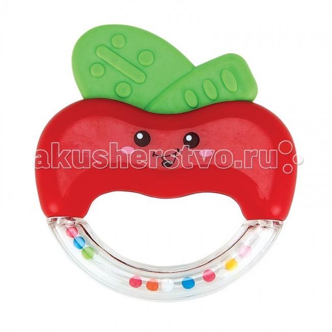 Погремушки Happy Baby прорезыватель Яблочко Apple Fun детское автокресло happy baby skyler blue