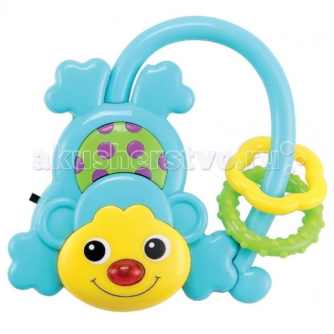 Погремушки Happy Baby Музыкальная обезьянка Moncus