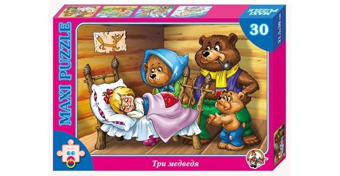 Пазлы Десятое королевство Пазл Три медведя (30 элементов) пазлы десятое королевство пазл репка 20 элементов