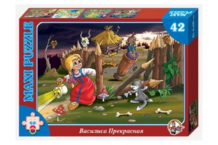 Пазлы Десятое королевство Пазл Василиса Прекрасная (42 элемента) пазлы десятое королевство пазл репка 20 элементов