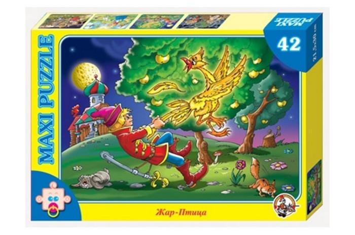 Пазлы Десятое королевство Пазл Жар-птица (42 элемента) пазл десятое королевство дюймовочка 01056