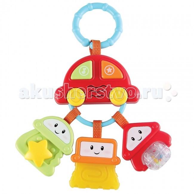 Подвесные игрушки Happy Baby Брелок с ключами Sundy брелок для машины рено