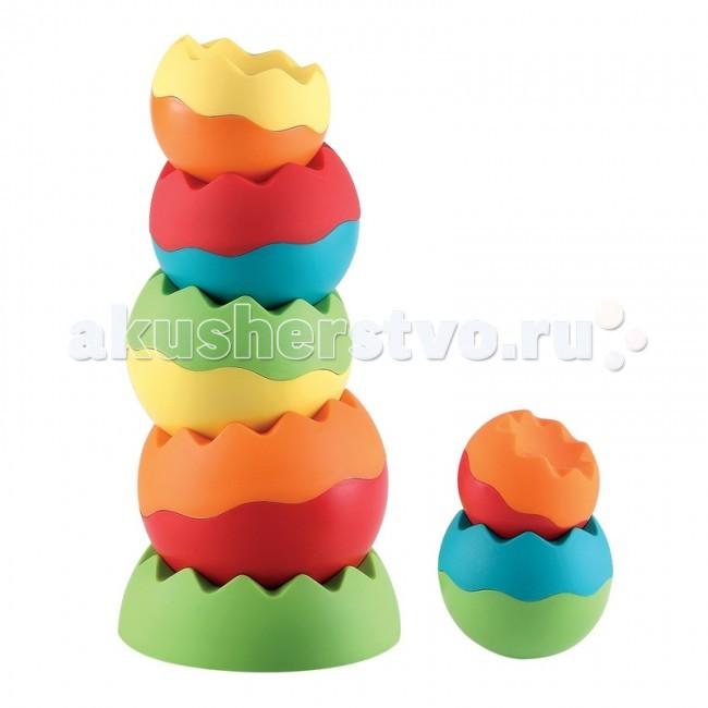 Развивающие игрушки Happy Baby Пирамидка Giza краснокамская игрушка развивающая пирамидка геометрия