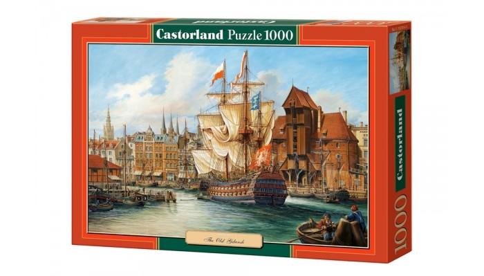 Пазлы Castorland Пазл Старый Гданьск (1000 элементов) паззл castorland 1000 эл 68 47см озеро канада