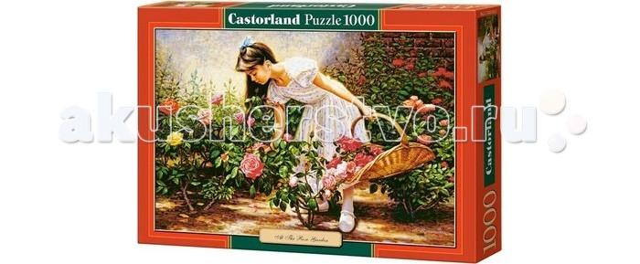 Пазлы Castorland Пазл В саду роз 1000 элементов паззл castorland 1000 эл 68 47см озеро канада