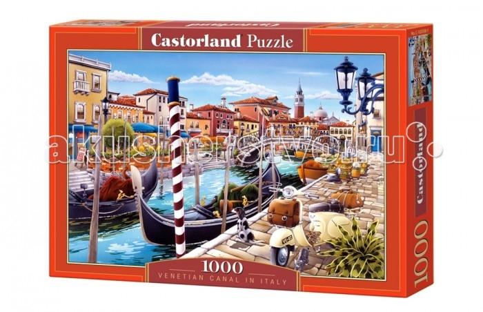 Пазлы Castorland Пазл Венецианский канал 1000 элементов castorland пазл коллаж лондон 1000 шт