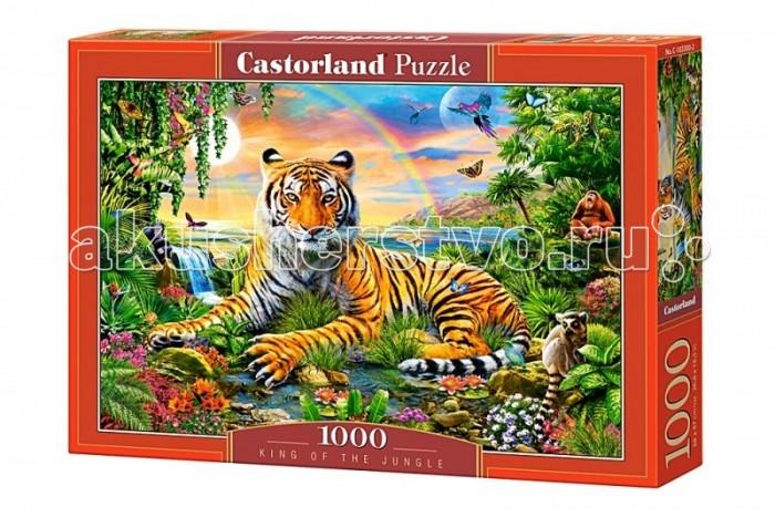 Пазлы Castorland Пазл Король джунглей 1000 элементов castorland пазл коллаж лондон 1000 шт
