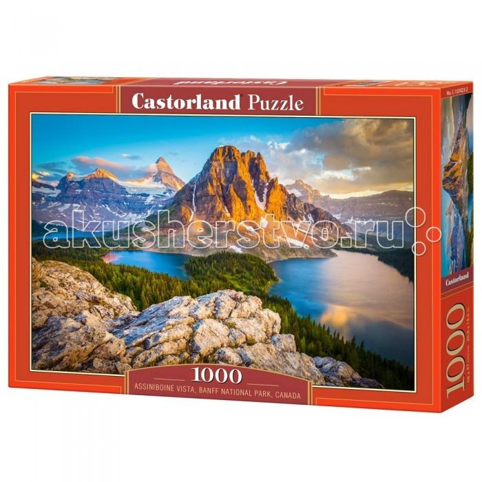 Пазлы Castorland Пазл Национальный парк Канада 1000 элементов пазл кастор озеро канада 1000 элементов