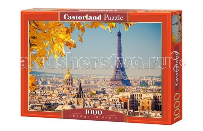 Пазлы Castorland Пазл Осень в Париже 1000 элементов паззл castorland 1000 эл 68 47см озеро канада