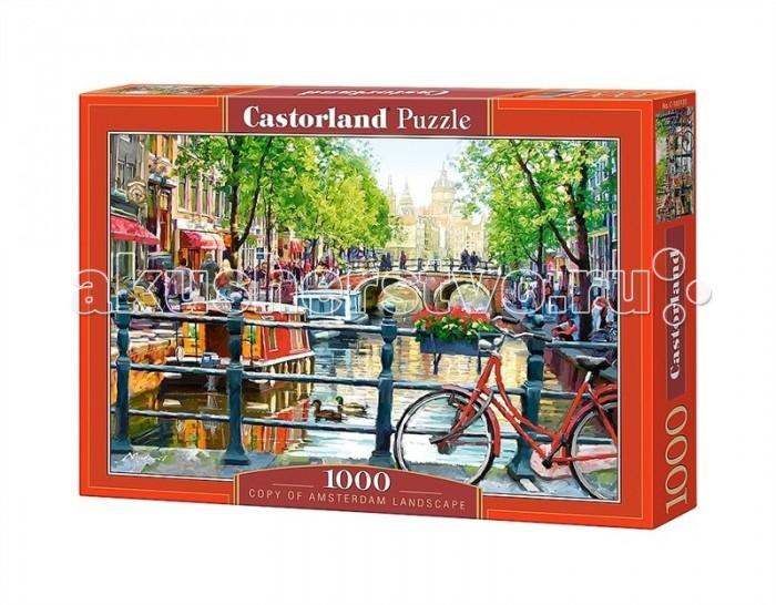 Пазлы Castorland Пазл Амстердам 1000 элементов пазл konigspuzzle 1000 эл 68 5 48 5см цветы на кофейном столике алк1000 6507