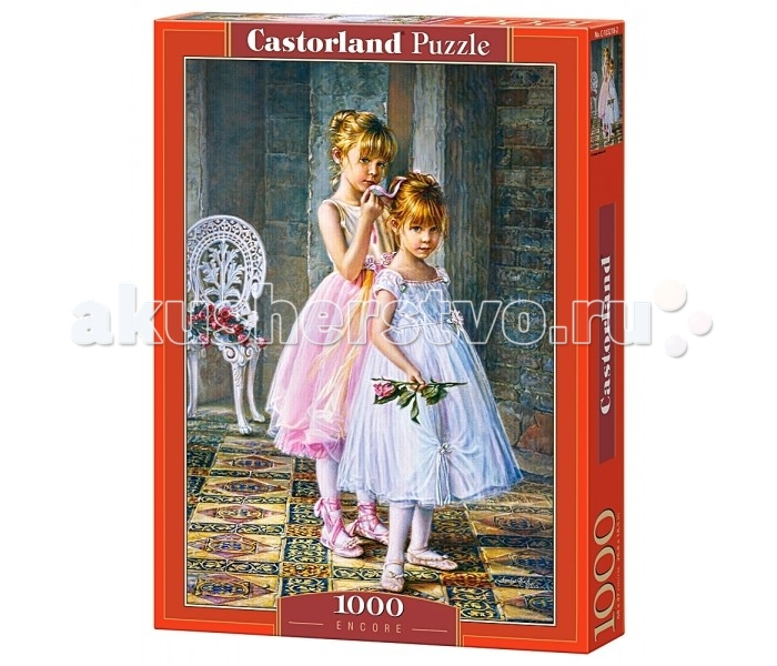 Пазлы Castorland Пазл Юные балерины 1000 элементов пазлы magic pazle объемный 3d пазл эйфелева башня 78x38x35 см