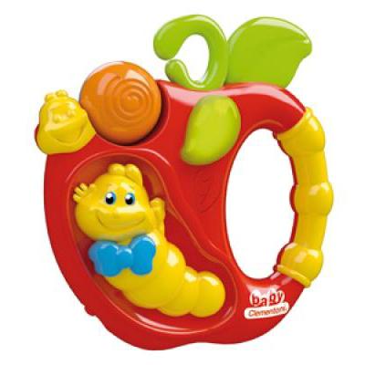 Погремушка Clementoni Baby электронная Гусеничка
