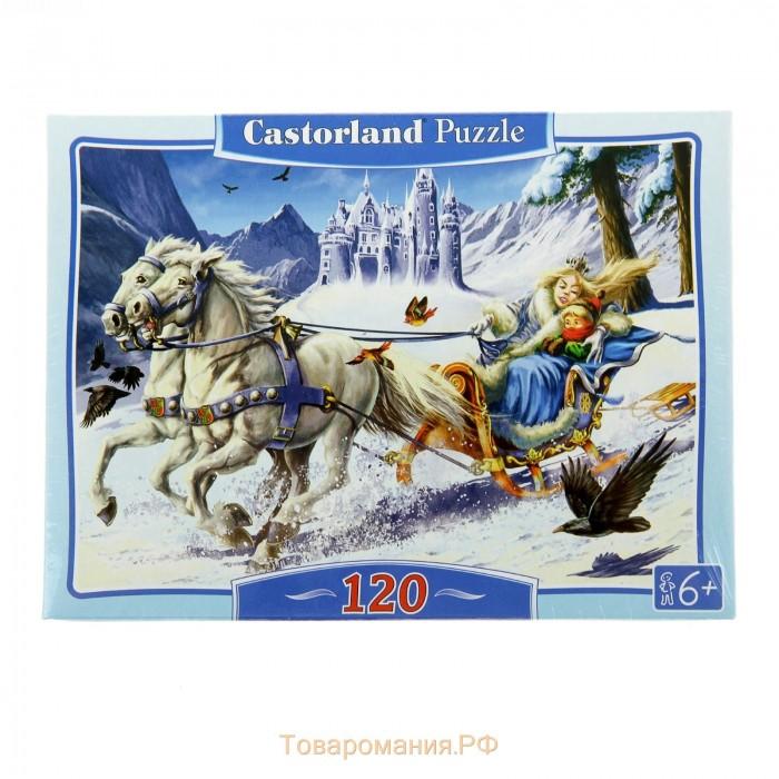 Пазлы Castorland Пазл Снежная королева 120 элементов пазлы castorland пазл храм в санкт петербурге 500 элементов