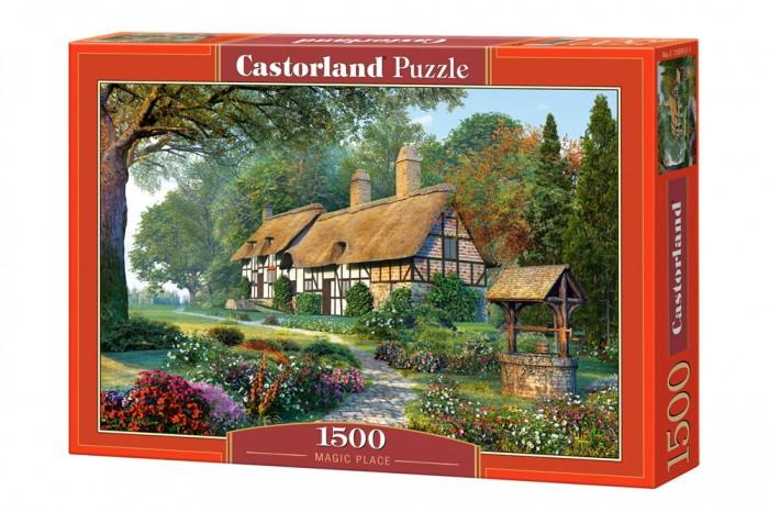 Пазлы Castorland Пазл Волшебный дом 1500 элементов паззл castorland 1500 эл 68 47см сова