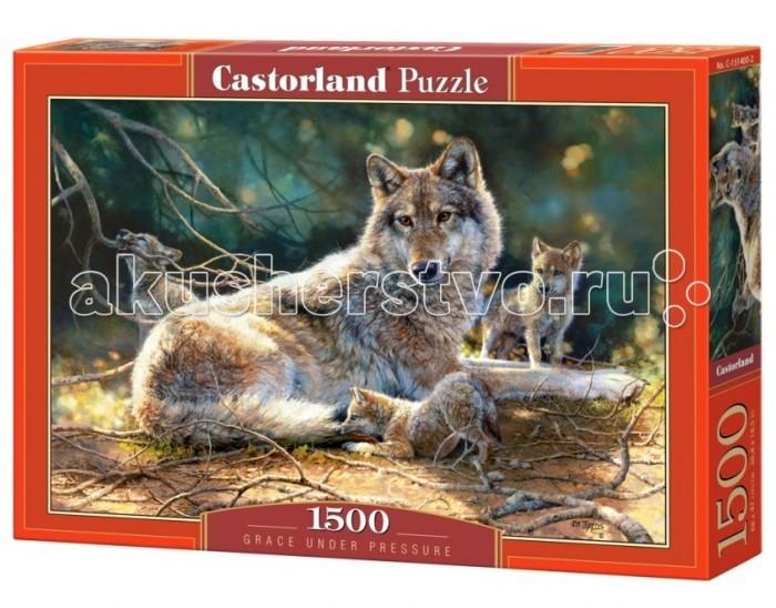 Пазлы Castorland Пазл Волки 1500 элементов паззл castorland 1500 эл 68 47см сова